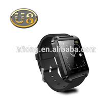 Smart Wrist Watch U8 Bluetooth Uwatch Mate For Android Samsung Phone HTC black