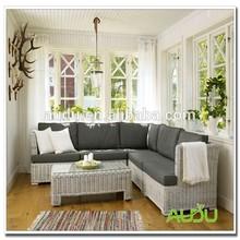 Audu Rattan Furniture/White Living Room Rattan Furniture
