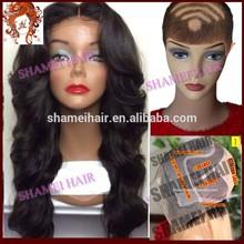 2015 New Design Silk Top Wig High Quality Virgin Peruvian Hair Wig