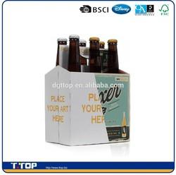 FSC Dongguan Factory Custom Print Wine Beer Bottle Cardboard Carriers