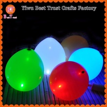Yiwu Factory Prices Promotional Logo Printing Balloon Colourful Light Blinking LED Balloon