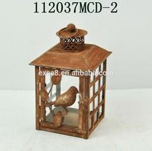 Antique rustic wholesale metal iron moroccan candle lantern