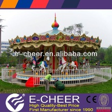 2012 Hot Selling 24-80 Seats Indoor/Outdoor Luxurious Double Deck Carousel