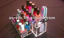 acrylic Stair shape cosmetic nail polish organizer