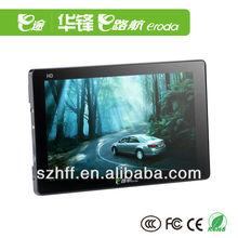eroda touch panel gps navigator x10 car gps
