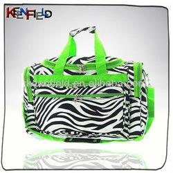"19"" Zebra Fashional Duffle Bags (CS-201522B)"