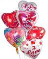 Ballon en forme de coeur imprimé coloré d'Inflating&Sealing Mylar d'individu