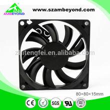 IP55 12V DC Fan 80x80x15mm Axial Cooler Fan