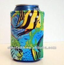 2015 Promotional items neoprene can holder beer cooler stubby holder