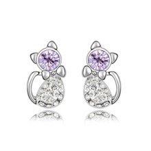 (e080122) 2012 The most popular earrings for girls