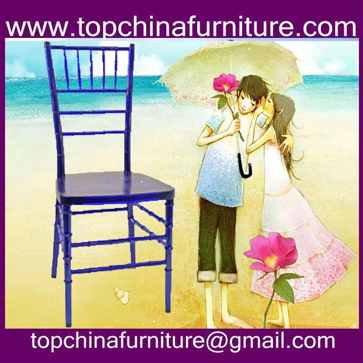 montar la importación de resina tiffany silla para el restaurante