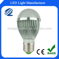 high power E27 led bulb 5w with CE RoHS