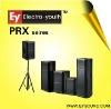 Professional audio stage speaker PRX series