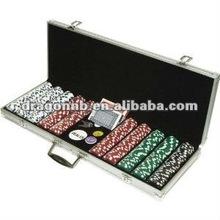 500pcs Poker Chip Set In Aluminium Case,Playing Card
