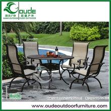 BBQ outdoor cast aluminium furniture