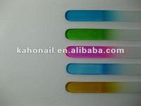 china promotion gift factory fashion nair art nail beauty glass nail file crystal emery board