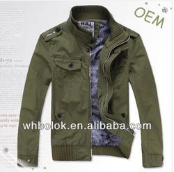Fashion style men's casual jacket slim jacket for men