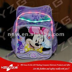 LED Flashing Fashional Schoolbag