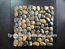 Stripe Tiger Color Pebble Stone River Rock