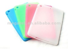 Tablet case cover ultra thin flexible silicone cover case for ipad mini , for ipad case mini air ,for ipad mini case ultra thin