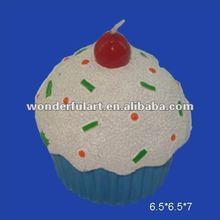 cheap wholesale tasty bun decoration candle