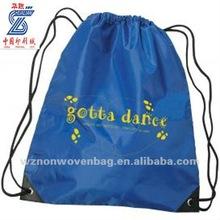 210d polyester promotional drawstring bag