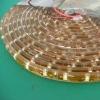 Half PVC Tube+Epoxy Glue 12v 24v ip67 flexible waterproof led strip 3528