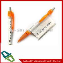 hot sale promotional pen, plastic banner pen, flag ball pen
