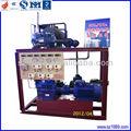 Supermercado demostrative de refrigeración co2/nh3 en cascada del compresor de la unidad de condensación