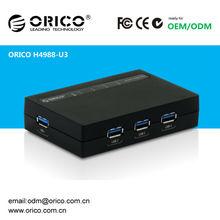 ORICO H4988-U3 4 port USB 3.0 super speed HUB With 12 V 2 A Power