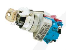 22 new key NO+NC industrial plastic push button switch XPB22-EG25