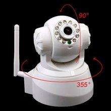 720P Megapixel IP Camera Wireless-Hi3507, H.264, WiFi, IR-CUT, Night Vision, Motion Detection, Two-way Audio, Alarm Port