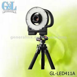 GL-LED411A round led ring camera light