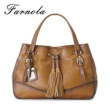 fringe vintage shoulder brand designer brown leather bags wholesale