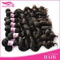 100% sin procesar virgen cabello humano, el precio de fábrica y de buena calidad
