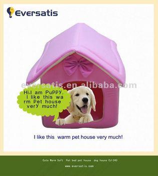 2012 New pink princess dog house