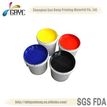 2014 GB9003 High quality water based ink,corrugagted box water based ink