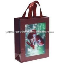 2012 hot sale handbag shape paper gift bag