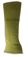 NMSAFETY yellow kevlar protective arm sleeve