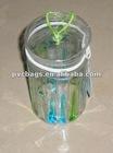 Clear pvc cylinder bag