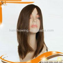 Virgin European human hair Jewish wig