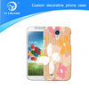 customized phone case for galaxy+PC mobile phone case+water transfer+customized logo printing