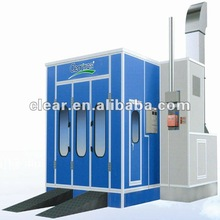 cross draft paint booth Clear HX-550