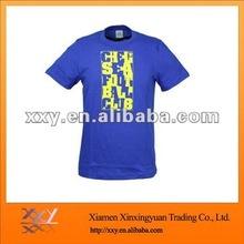 Preshunk Slim Fit Combed Cotton T-Shirt Navy Blue Tall Tshirt