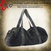 Special Washed Denim Duffle Bag Fashionable Travel Bag
