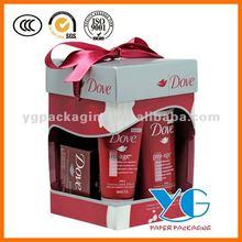 Shampoo PET Packaging Box with Ribbon Rope