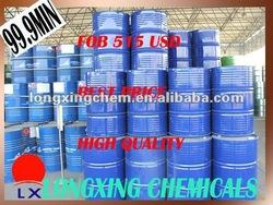 china best quality dichloromethane 99.95~99.99% solvent