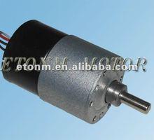 12V dc brushless gear motor 1000rpm