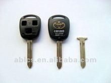 Auto remote key shell for Toyota (3 holes tine)