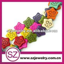 B32 synthetic turquoise 2012 popular bead